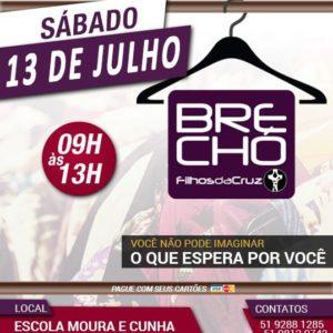 Brechó FDC – Julho