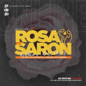 Evento online Rosa de Saron